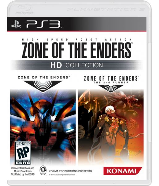 Zone of the Enders HD Collection [русская документация] (PS3)